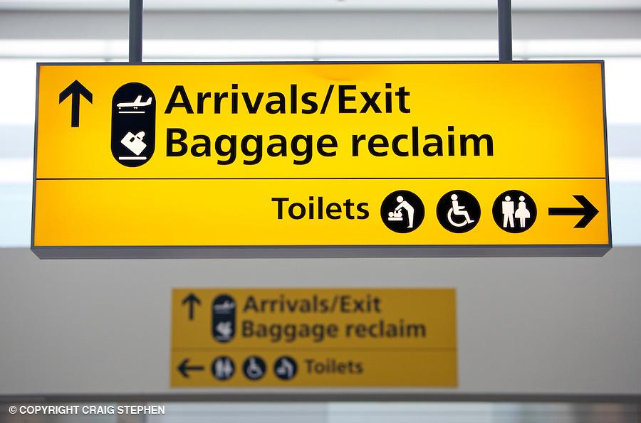Airport Signage Pr Amp Commercial Photographer Scotland