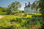 The Hamilton House in South Berwick, Maine, USA