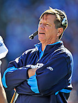 19 October 2008:  San Diego Chargers' Head Coach Norv Turner talks on the sidelines during a game against the Buffalo Bills at Ralph Wilson Stadium in Orchard Park, NY. The Bills defeated the Chargers 23-14 and maintain their first place position in the AFC East with a 5 and 1 record...Mandatory Photo Credit: Ed Wolfstein Photo
