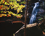Middle Hungarian Falls, Houghton County, Michigan, September, 1988