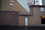 Motherwell 3 Dundee 1, 12/12/2015. Fir Park, Scottish Premiership. The Davie Cooper Stand at Fir Park, home to Motherwell Football Club, pictured on the day they played Dundee in a Scottish Premiership fixture. Formed in 1886, the  home side has played at Fir Park since 1895. Motherwell won the match by three goals to one, watched by a crowd of 3512 spectators. Photo by Colin McPherson.