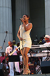 """Elisabeth Withers Performs at """"A Great Day In Harlem"""" A Concert Under The Stars - The Sounds of Philadelphia, NY 7/25/10"""