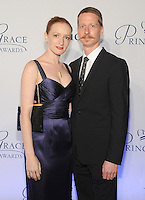 NEW YORK, NY - OCTOBER 24: Gillian Murphy and Ethan Stiefel attends the 2016 Princess Grace Awards Gala at Cipriani Broadway on October 24, 2016 in New York City. Photo by John Palmer/MediaPunch