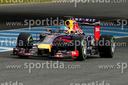 Motorsports: FIA Formula One World Championship 2014, Tests in Jerez de la Frontera, #1 Sebastian Vettel (GER, Infiniti Red Bull Racing),  *** Local Caption *** © pixathlon
