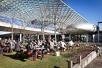 pausa pranzo tra i padiglioni della Fiera Milano Rho