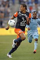 Daniel Congre (12) defender Montpellier..Sporting Kansas City were defeated 3-0 by Montpellier HSC in an international friendly at LIVESTRONG Sporting Park, Kansas City, KS..