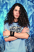 NEW YORK CITY, NY NOVEMBER 06: Chris Cornell of Soundgarden poses during a photo session in studio on November 6, 1989 in New York City. photo by Larry Marano © 1989
