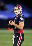 3 December 2009: Buffalo Bills' quarterback Brian Brohm warms up prior to a game against the New York Jets at the Rogers Centre in Toronto, Ontario, Canada. The Bills fell to the Jets 19-13. Mandatory Credit: Ed Wolfstein Photo