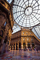 Galleria Vittorio Emanuele, Piazza del Duomo, Milan, Italy