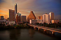 Austin Skyline, Cityscape & Panoramic Stock Photo Image Gallery