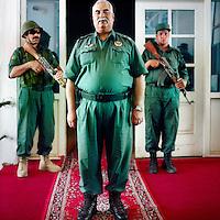 Afghan National Army general, and chief of police in Herat, Estamullah Alizai.