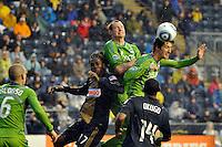 Philadelphia Union vs Seattle Sounders FC April 16 2011