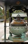 Bronze Incense Burner with Oni Troll feet, Sanbutsudo Three Buddha Hall, Rinnoji, Nikko, Japan
