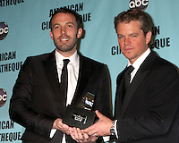 American Cinematique Honors Matt Damon