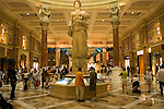 A shopping mall in Las Vegas, Nevada,  NV, Las Vegas, city, statue in the atrium of the Forum Shopping Mall, Caesars Palace and Casino, Photo nv283-18360..Copyright: Lee Foster, www.fostertravel.com, 510-549-2202,lee@fostertravel.com