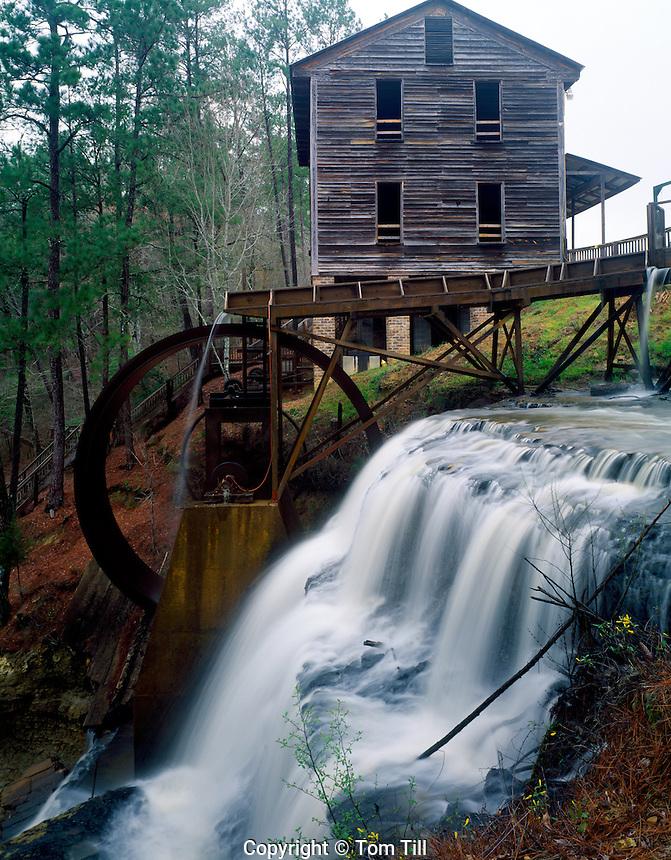 Dun's Falls Mill along Chunky River, Near Meridian, Mississippi