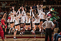 Stanford Volleyball W vs Washington State University, October 28, 2016