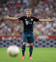 Fussball  International   Audi Cup 2013  Saison 2013/2014   31.07.2013 FC Bayern Muenchen - Sao Paulo FC  Bastian Schweinsteiger (FC Bayern Muenchen)