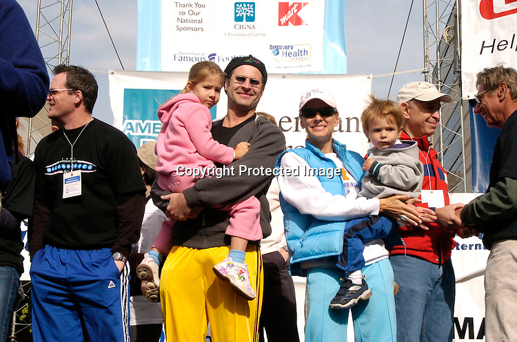 Soapstars on the stage ..at the March of Dimes Walkamerica 2004 on Sunday April  25, 2004 in New York City. ..Photo by Roibn Platzer, Twin Images