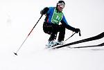 Challenge Mer et Montagne 2012, Saint Gervais les Bains, Mont Blanc, Haute Savoie, France..Ski Super Geant..Pascal Budin