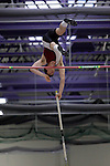 11 MAR 2011: Nathan Peterson of Mass. Instit. of Tech. pole vaults during the the Division III Men's and Women's Indoor Track and Field Championships held at the Capital Center Fieldhouse on the Capital University campus in Columbus, OH.  Jay LaPrete/NCAA Photos