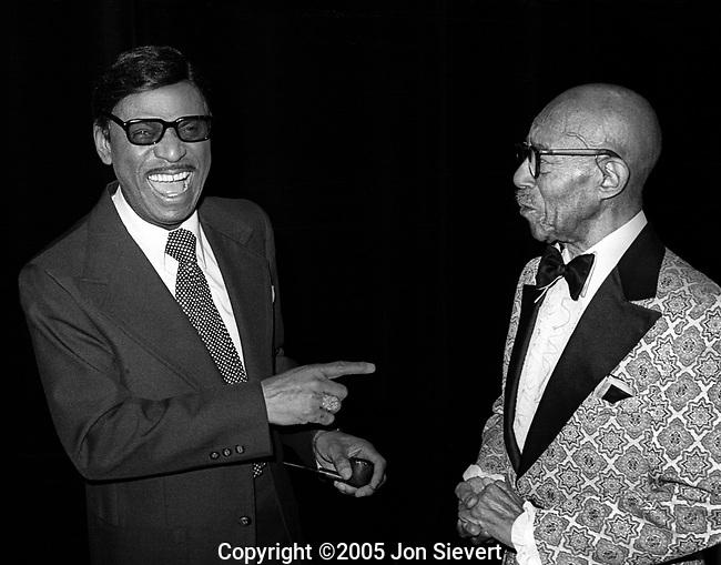 Earl Hines and Eubie Blake, Jan 28, 1977, Zellerbach Theater, Berkeley