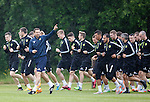 260615 Motherwell training