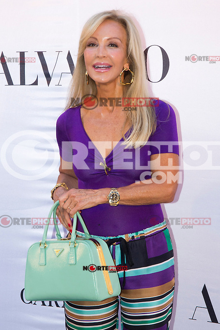 03.09.2012. Celebrities attending the Alvarno fashion show during the OFF Mercedes-Benz Fashion Week Madrid Spring/Summer 2013 at Museo Lazaro Galdiano. In the image Carmen Lomana (Alterphotos/Marta Gonzalez) /NortePhoto.com<br />