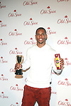 Superbowl Champion NY Giants' Victor Cruz Attends OLD SPICE Scent Event Featuring Two Of The Newest Products Champion and Danger Zone! at the Highline Stages, NY  3/13/12