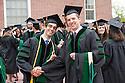 Adam Bensimhon, left, Griffin Boll. Commencement, class of 2013.