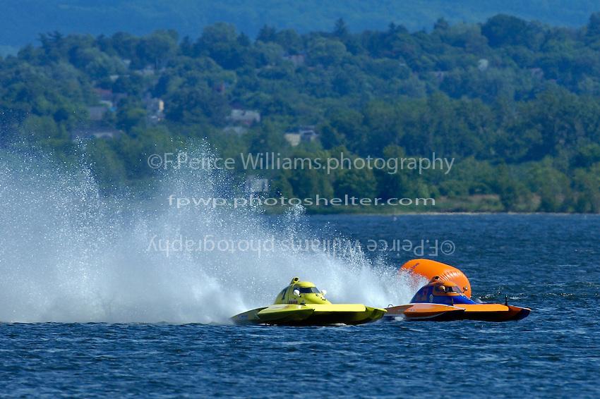 "Dan Kanfoush, Y-1 ""Fast Eddie Too"" and Sean Bowsher Y-52  (1 Litre MOD hydroplane(s)"