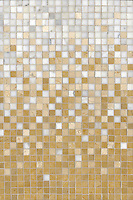 Name: Mist 1.5cm Grid<br /> Style: Metamorphosis<br /> Product Number: CB0620<br /> Description: Mist 1.5cm Grid in Renaissance Bronze, Crema Marfil, Calacatta Tia (p)
