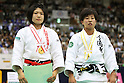 (L to R) Misato Nakamura (JPN), Yuka Nishida (JPN), .May 13, 2012 - Judo : .All Japan Selected Judo Championships, Women's -52kg class Final .at Fukuoka Convention Center, Fukuoka, Japan. .(Photo by Daiju Kitamura/AFLO SPORT) [1045]