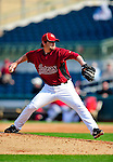 4 March 2010: Houston Astros relief pitcher Roy Corcoran on the mound during the Astros' Grapefruit League Opening Day game against a Washington Nationals' split squad at Osceola County Stadium in Kissimmee, Florida. The Astros defeated the Nationals 15-5 in Spring Training action. Mandatory Credit: Ed Wolfstein Photo