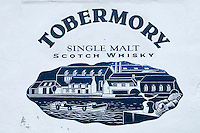 Hebrides, Scotland, May 2010. Tobermory distillery on the Isle of Mull. Dutch Tallship Thalassa sails between the islands along the Scotish west coast in search of the quality single malt whisky that is produced by the many distilleries. Photo by Frits Meyst/Adventure4ever.com