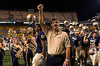 01 September 2007:Pittsburgh head coach Dave Wannstedt..The Pitt Panthers defeated the Eastern Michigan Eagles 27-3 at Heinz Field, Pittsburgh, Pennsylvania.
