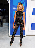 NEW YORK, NY - AUGUST 28:Hailey Baldwin attend the 2016 MTV Video Music Awards at Madison Square Garden on August 28, 2016 in New York City Credit John Palmer / MediaPunch