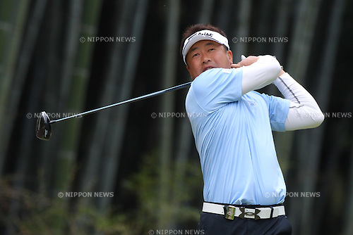 Daisuke Maruyama, .APRIL 13, 2012 - Golf : 20th Japan Golf Tour Token Homemate Cup 2012, .2nd Round .at Token Tado Country Club Nagoya, Mie, Japan. (Photo by Akihiro Sugimoto/AFLO SPORT) [1080]