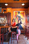 Cafe Saint Ex in Washington's Greater U Street area is located in an historic Row house with a European flair