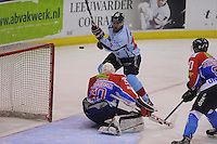 IJSHOCKEY: HEERENVEEN: 18-12-2013, IJsstadion Thialf, UNIS Flyers - HYS Den Haag, 181213, uitslag 5-6, ©foto Martin de Jong