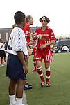 2 August 2003: Marinette Pichon (11) of France. The Philadelphia Charge defeated the Atlanta Beat 3-0 at Villanova Stadium in Villanova, PA in a regular season WUSA game.