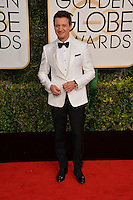 Jeremy Renner at the 74th Golden Globe Awards  at The Beverly Hilton Hotel, Los Angeles USA 8th January  2017<br /> Picture: Paul Smith/Featureflash/SilverHub 0208 004 5359 sales@silverhubmedia.com