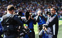 Huddersfield Town manager David Wagner is photographed<br /> <br /> Photographer Chris Vaughan/CameraSport<br /> <br /> The EFL Sky Bet Championship Play-Off Semi Final First Leg - Huddersfield Town v Sheffield Wednesday - Saturday 13th May 2017 - The John Smith's Stadium - Huddersfield<br /> <br /> World Copyright &copy; 2017 CameraSport. All rights reserved. 43 Linden Ave. Countesthorpe. Leicester. England. LE8 5PG - Tel: +44 (0) 116 277 4147 - admin@camerasport.com - www.camerasport.com