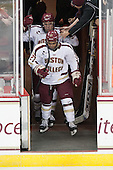 Bill Arnold (BC - 24), Quinn Smith (BC - 27) - The Boston College Eagles defeated the visiting Dartmouth College Big Green 6-3 (EN) on Saturday, November 24, 2012, at Kelley Rink in Conte Forum in Chestnut Hill, Massachusetts.