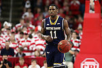 25 January 2015: Notre Dame's Demetrius Jackson. The North Carolina State University Wolfpack played the University of Notre Dame Fighting Irish in an NCAA Division I Men's basketball game at the PNC Arena in Raleigh, North Carolina. Notre Dame won the game 81-78 in overtime.