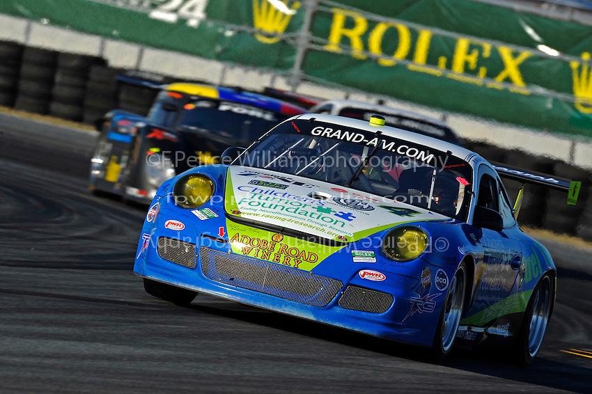 #4 TRG Porsche GT3 Cup of Ryan Eversley, Daniel Graeff, Kenny Wallace, Ron Yarab, Jr. & Richard Zahn, Jr.