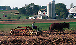 Amish farmer plows his field with mules Commonwealth of Pennsylvania, Keystone state, Thirteen Colonies, Fine Art Photography by Ron Bennett, Fine Art, Fine Art photography, Art Photography, Copyright RonBennettPhotography.com © Fine Art Photography by Ron Bennett, Fine Art, Fine Art photography, Art Photography, Copyright RonBennettPhotography.com ©