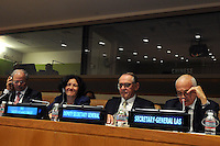 UN Deputy Secretary-General Jan Eliasson  attends the 69 session of the General Assembly in New York