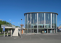Modern Building of Pärnu Concert Hall, Estonia