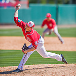 28 February 2016: Washington Nationals pitcher Austin Voth on the mound during an inter-squad pre-season Spring Training game at Space Coast Stadium in Viera, Florida. Mandatory Credit: Ed Wolfstein Photo *** RAW (NEF) Image File Available ***